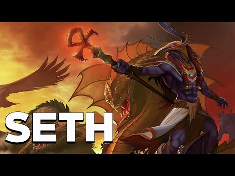 Seth: the god of chaos and deserts - egyptian mythology - see u in history