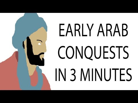 Early arab conquests | 3 minute history