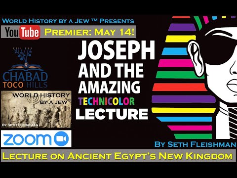 Joseph in ancient egypt (z04) by seth fleishman / world history by a jew™