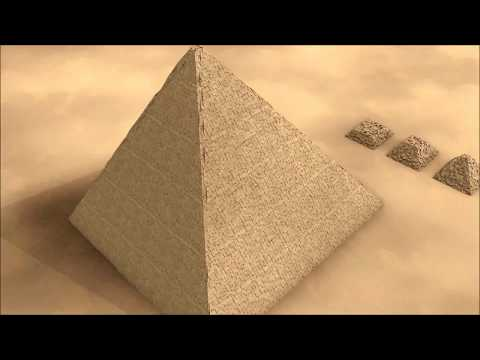 4,500 year old ramp used to build the giza pyramids found